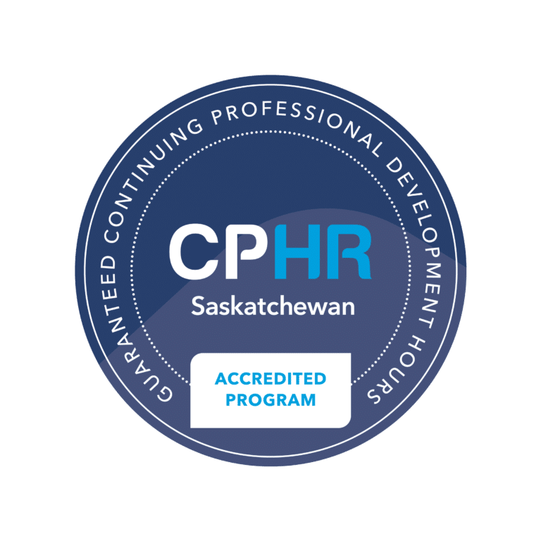 CPHR accredited program badge